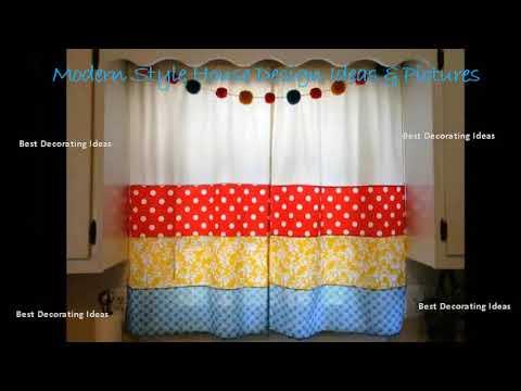 Kitchen curtains patterns designs | Modern Style Kitchen decor Design Ideas & Picture