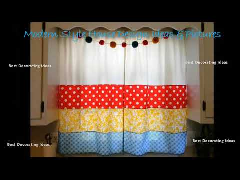 Kitchen Curtain Patterns Hotels With Kitchens In Vegas Curtains Designs Modern Style Decor Design Ideas Picture