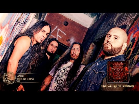 AZEROTH «Entre las Cenizas» - (Video lyric oficial 2017)