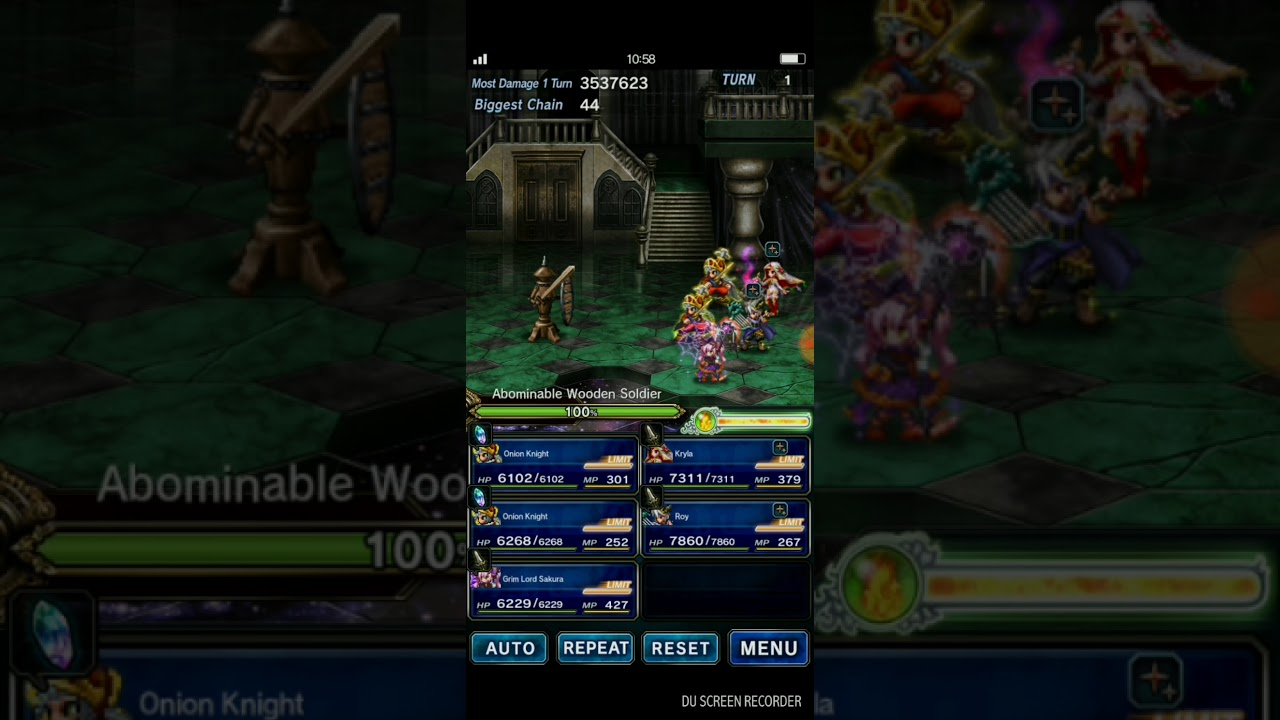 FFBE - Using Game Tuner for Spark Chains