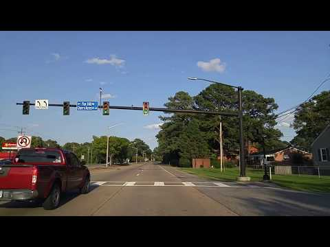 Driving by Hampton,Virginia