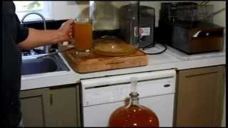 Easy Hard Apple Cider From Frozen Apple juice 5 Gallon  Pt 2