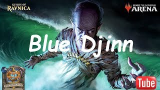 Magic Arena MTGA: Mono Blue Tempo Deck #4 - Guilds of Ravnica - Standard Contructed
