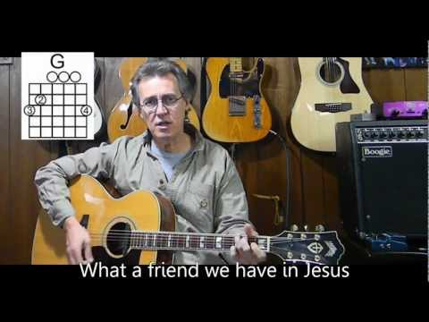 What a Friend We Have In Jesus with lyrics & chords - Christian/Gospel Songs - T11