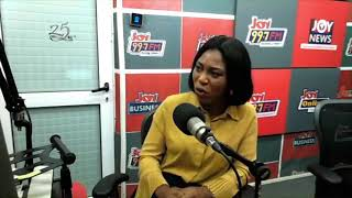 Ms Juliet Amoah, Exec. Dir of Penplusbytes on