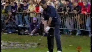 Seve Ballesteros v Ernie Els. 2nd Round.World Matchplay.1994.
