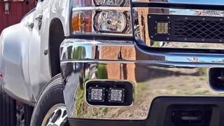 IJDMTOY Install 2007-2014 Chevy Silverado LED Fog Lights