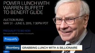 Here's How You Can Have Lunch With Warren Buffett