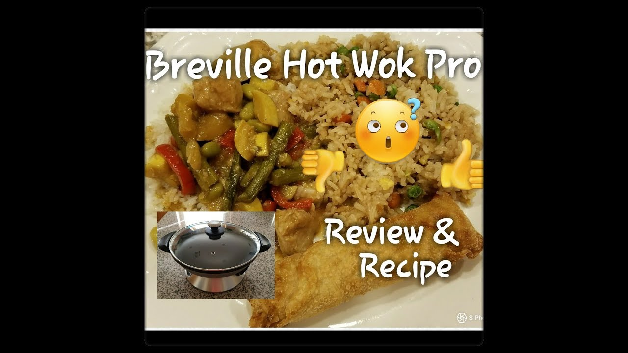 breville hot wok pro review