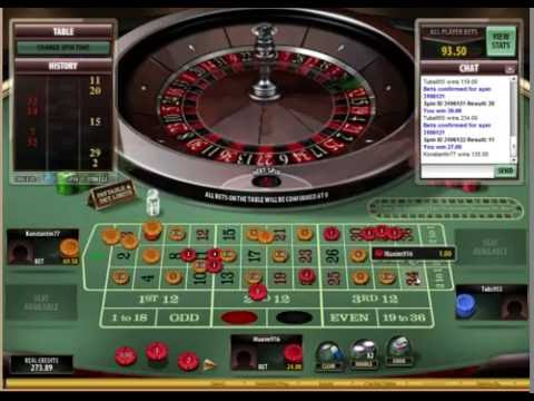 Microgaming roulette 295 507 win