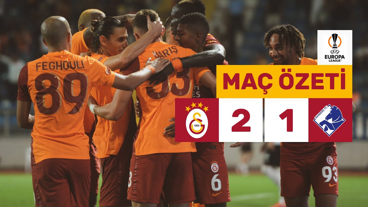 Download Geniş Özet | Galatasaray 2-1 Randers - UEFA Avrupa Ligi
