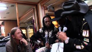 Warwick - Fuss On the Buss 2 - Verdine White, Larry Graham, Bootsy Collins Interview