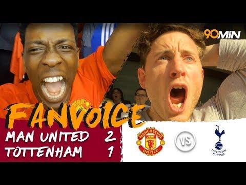 Sanchez and Herrera propel Man United into FA Cup final!   Man United 2-1 Tottenham   90min FanVoice