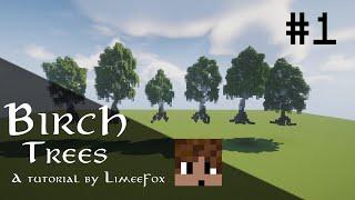 Minecraft: Making Custom Birch Trees