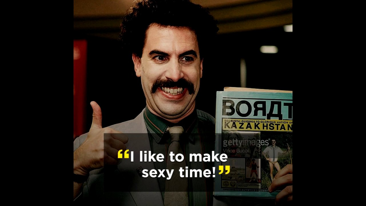 Borat Quotes Borat Nasty Quotes Compilation(Part 2)!!!   YouTube Borat Quotes