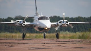 The plane I dreamt of. Piper Aerostar 700 Test-Flight