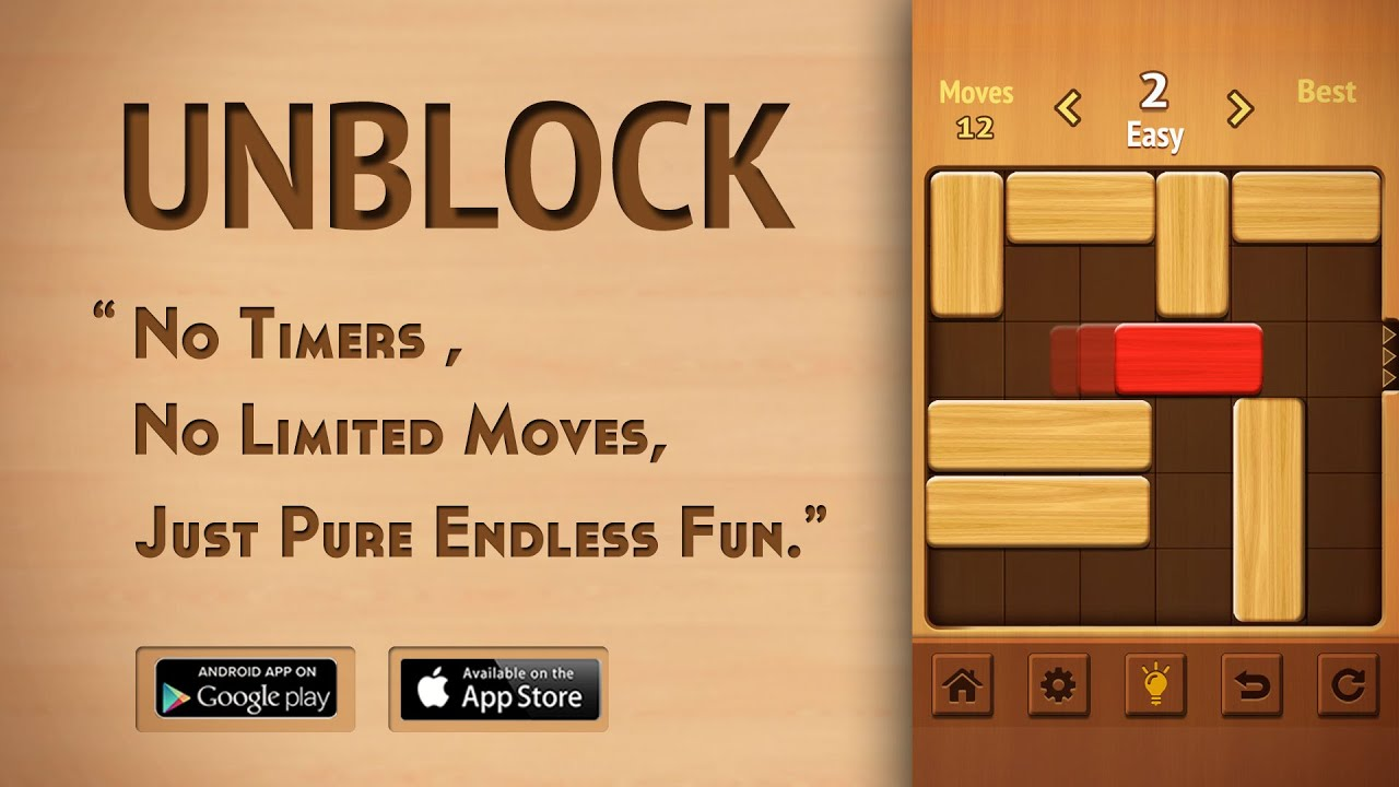 Unblock FREE - Best Puzzle Game Trailer