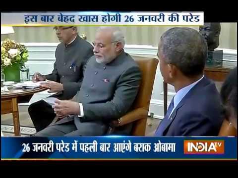 Barack Obama accepts PM Modi's invite, to attend Republic Day Parade