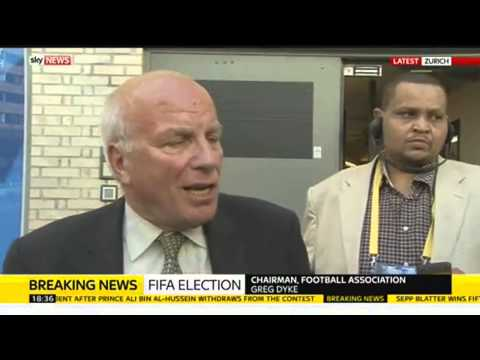 FA Chairman Greg Dyke: England Will Not Withdraw From FIFA Tournaments By Itself