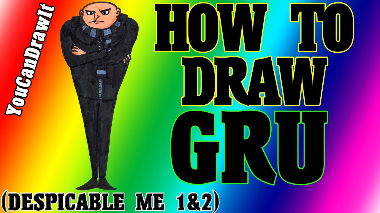 How to draw gru from despicable me 12 youcandrawit 1080p hd how to draw gru from despicable me 12 youcandrawit 1080p hd altavistaventures Images