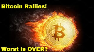 Bitcoin RALLIES! Is the WORST OVER?