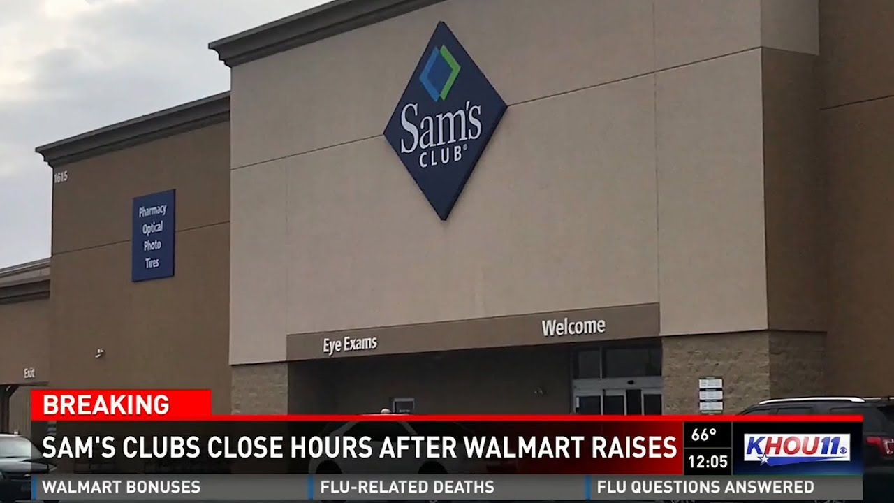 After bonus announcement, Walmart fires thousands of co-managers