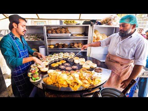 Street Food In Pakistan - ULTIMATE WESTERN PAKISTANI Fast Food Tour | Karachi, Islamabad, Lahore!