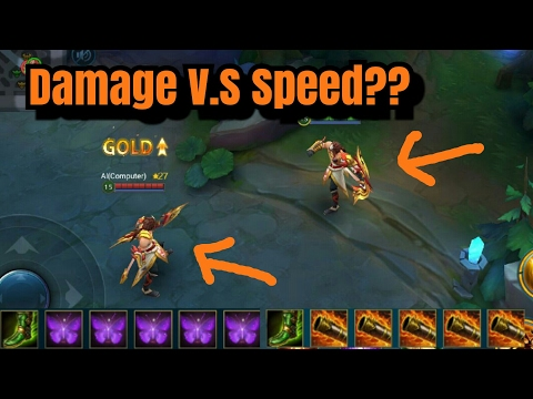MAX ATTACK DAMAGE v.s MAX ATTACK SPEED - Solus from Heroes Evolved