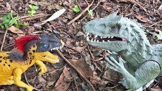 Dinosaurs vs. Snakes in the Jungle | Indominus Rex, Centipedes, Cobra, Trex fight battle action