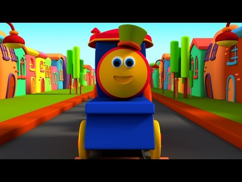 Bob The Train | Wheels On The Train | Songs For Kids | Wheels On The Bus by Bob The Train