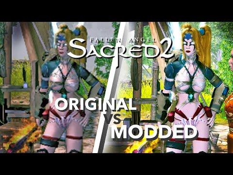 Sacred 2 Gold 2020 MODDED Gameplay. ORIGINAL VS RESHADE