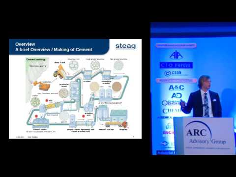 """Advance Process Control Solution for Cement Industries"" – Mr. Dirk Tiedtke, Senior Manager, STEAG"