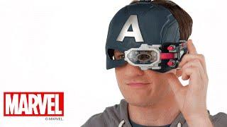 Marvel Captain America: Civil War U.K. - 'Scope Vision Helmet' Demo