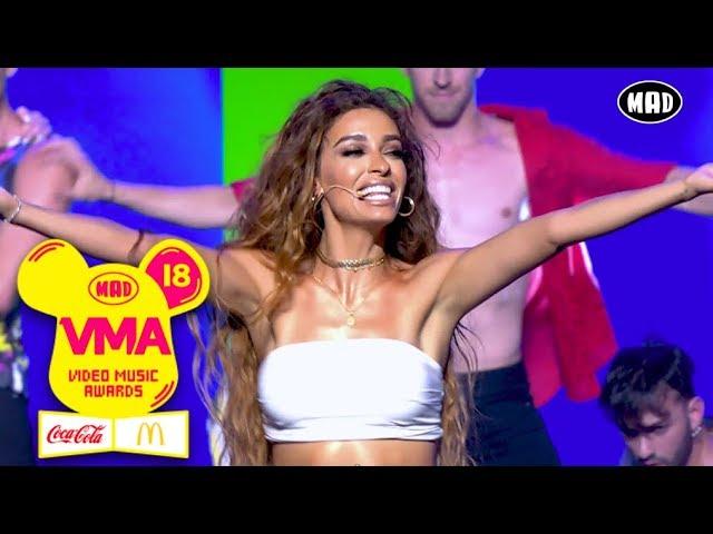 Ελένη Φουρέιρα feat. 719 - Καραμέλα / Demasiado Corazon     Mad VMA 2018 by Coca-Cola & McDonald's