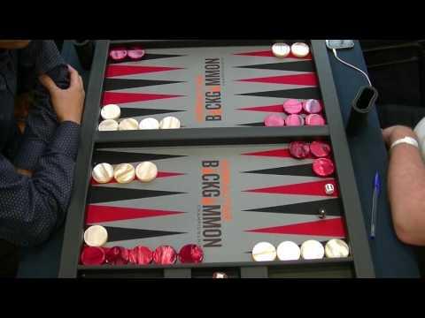 Gibraltar Backgammon Championship 2017 - SJ Semifinal - Jacek Wojciechowski/Mochy