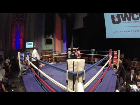 Ultra White Collar Boxing  London  Ring 1  Scotty McKinley VS Paul Rae