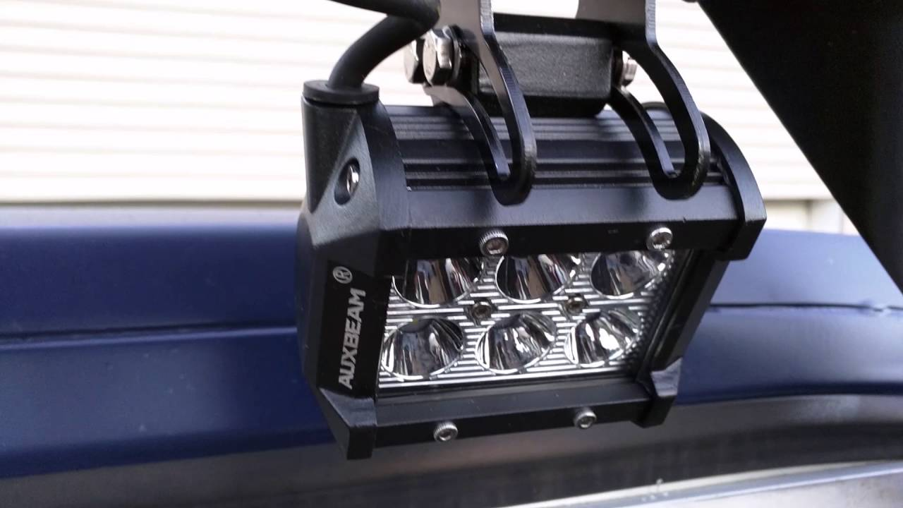 Truck Bed Lighting With Auxbeam Led Pods Youtube