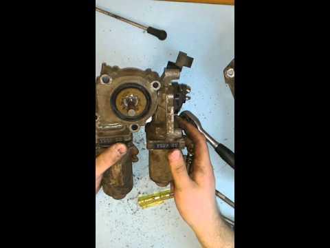 Ремонт механизма переключения передач. Часть 3.