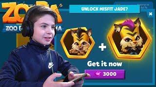 UNLOCK JADE + MISFIT JADE SKIN - Zooba