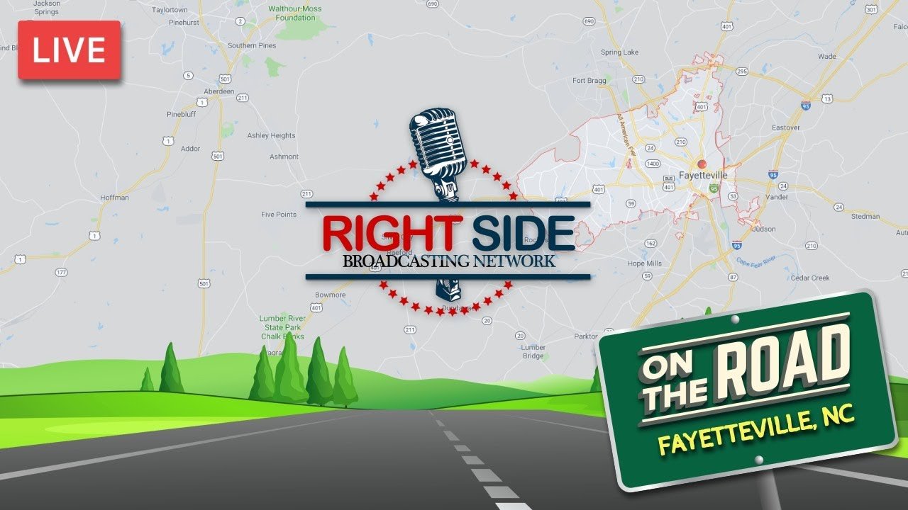 RSBN on the Road - Trump Rally Eve From Fayetteville, NC - 9/8/19
