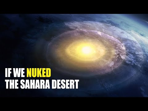 What If You Detonated 200 Nuclear Bombs In The Sahara Desert?
