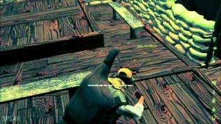 """Dayz Epoch Chernarus // Base Building #2  //  How To """"satchel"""" A Outhouse :o]"""