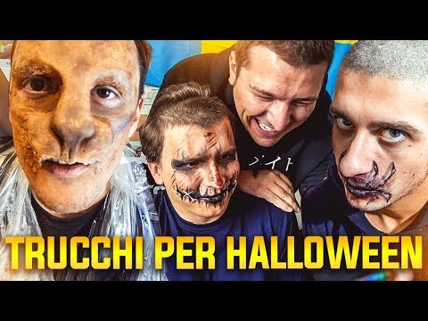 INVADERE CASA DI ST3PNY SURRY E KLAUS - TRUCCARE YOUTUBER AD HALLOWEEN