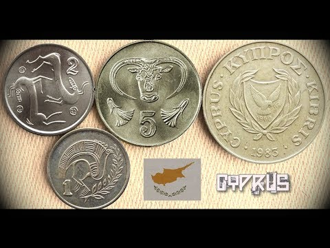 Coin Collection   Cyprus (Middle East)   4 Coins ( Cents ) From 1983