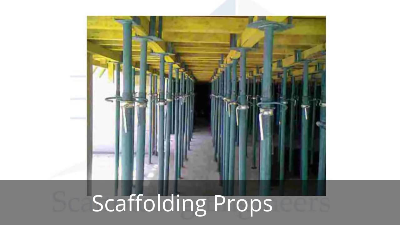 Scaffolding And Shuttering : Scaffolding on hire rent cuplock u jack base props
