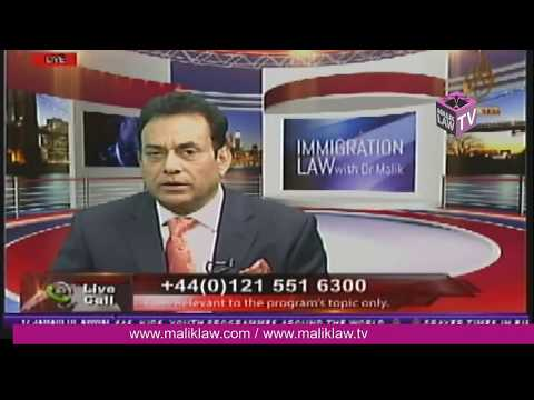 Immigration Law with Dr Malik 3 Feb 2018