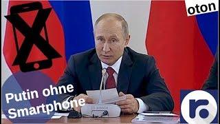 Putins fehlendes Smartphone auf deutsch