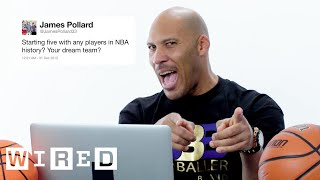 LaVar Ball Answers Basketball Questions From Twitter | Tech Support | WIRED