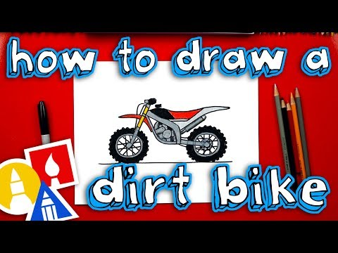 How To Draw A Dirt Bike