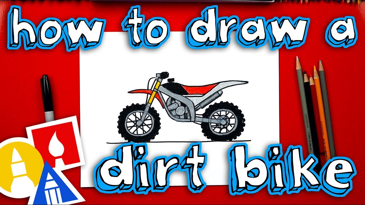 small resolution of how to draw a dirt bike